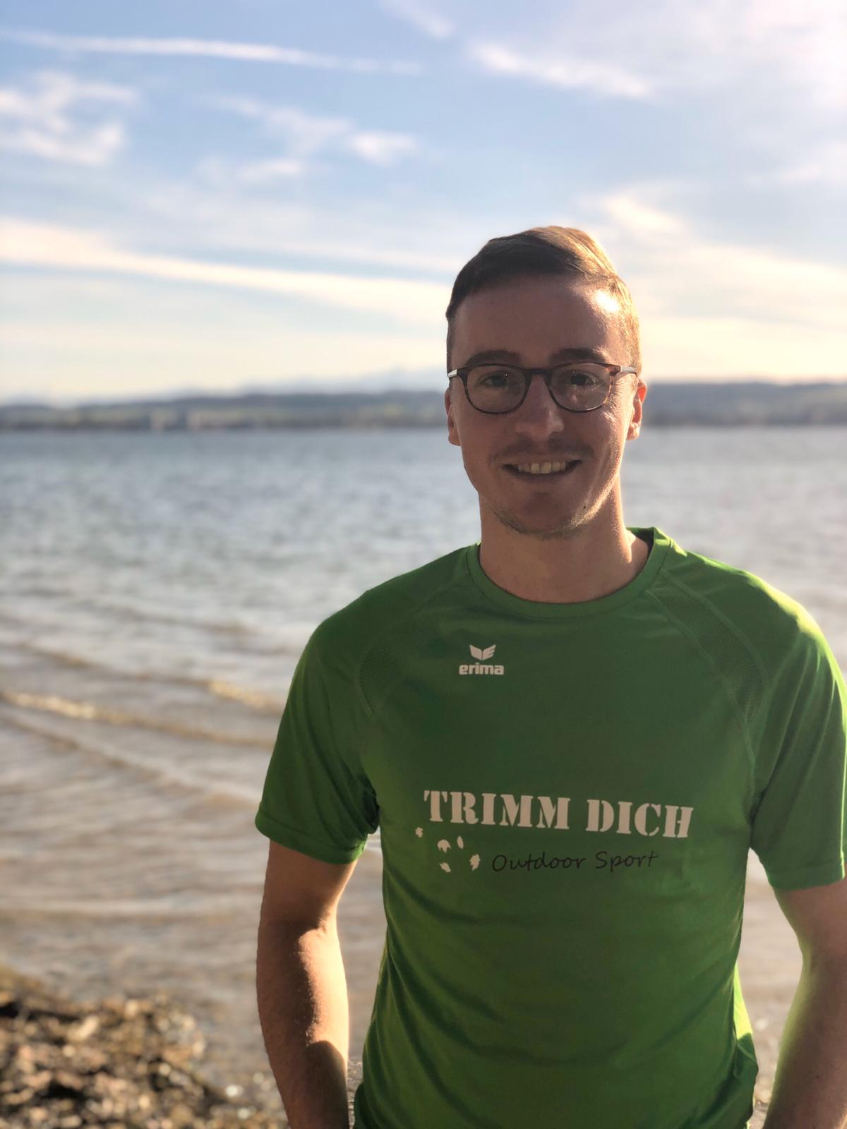 TRIMM DICH Outdoor Fitness Trainer Stefan